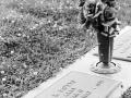Rose Hill Cemetery - Columbia, Tennessee - Olympus OM1 / 50mm f1.8 / Kodak TRI-X 400 / The FINDlab