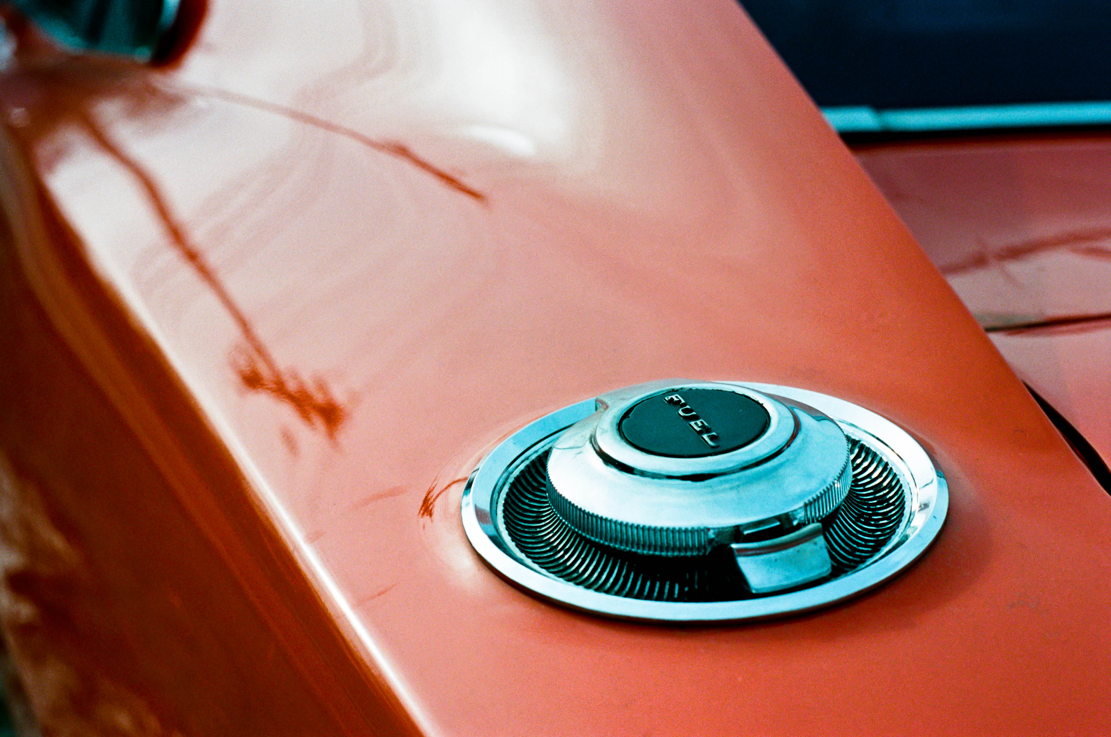 Fuel Cap of General Lee Replica at Leiper's Fork - Franklin, Tennessee