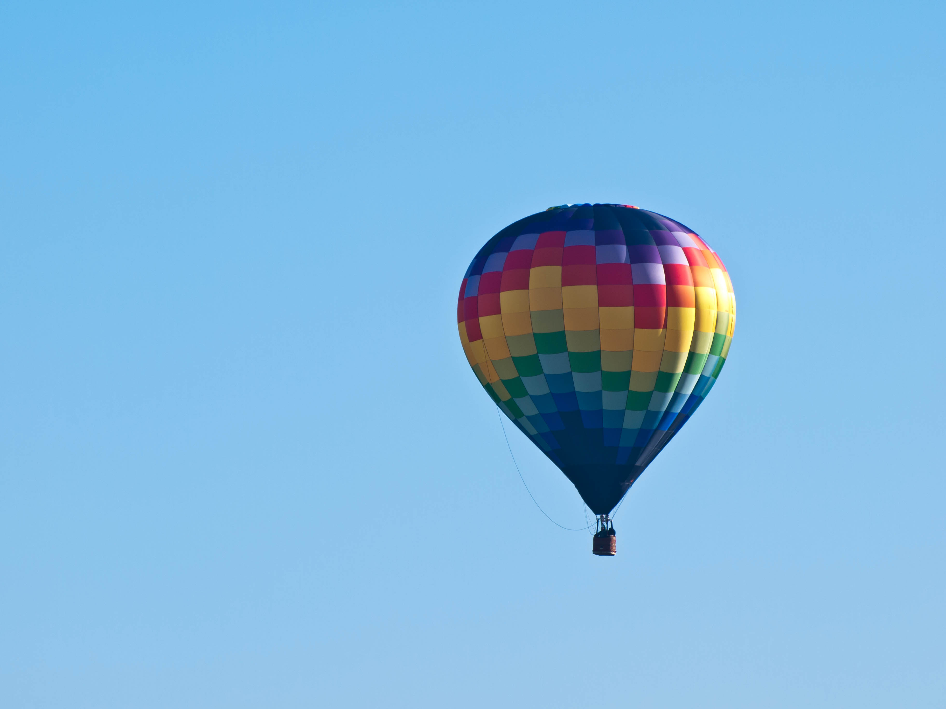 If I never take a balloon ride, I will be just fine. I like to stay grounded if you know what I mean.