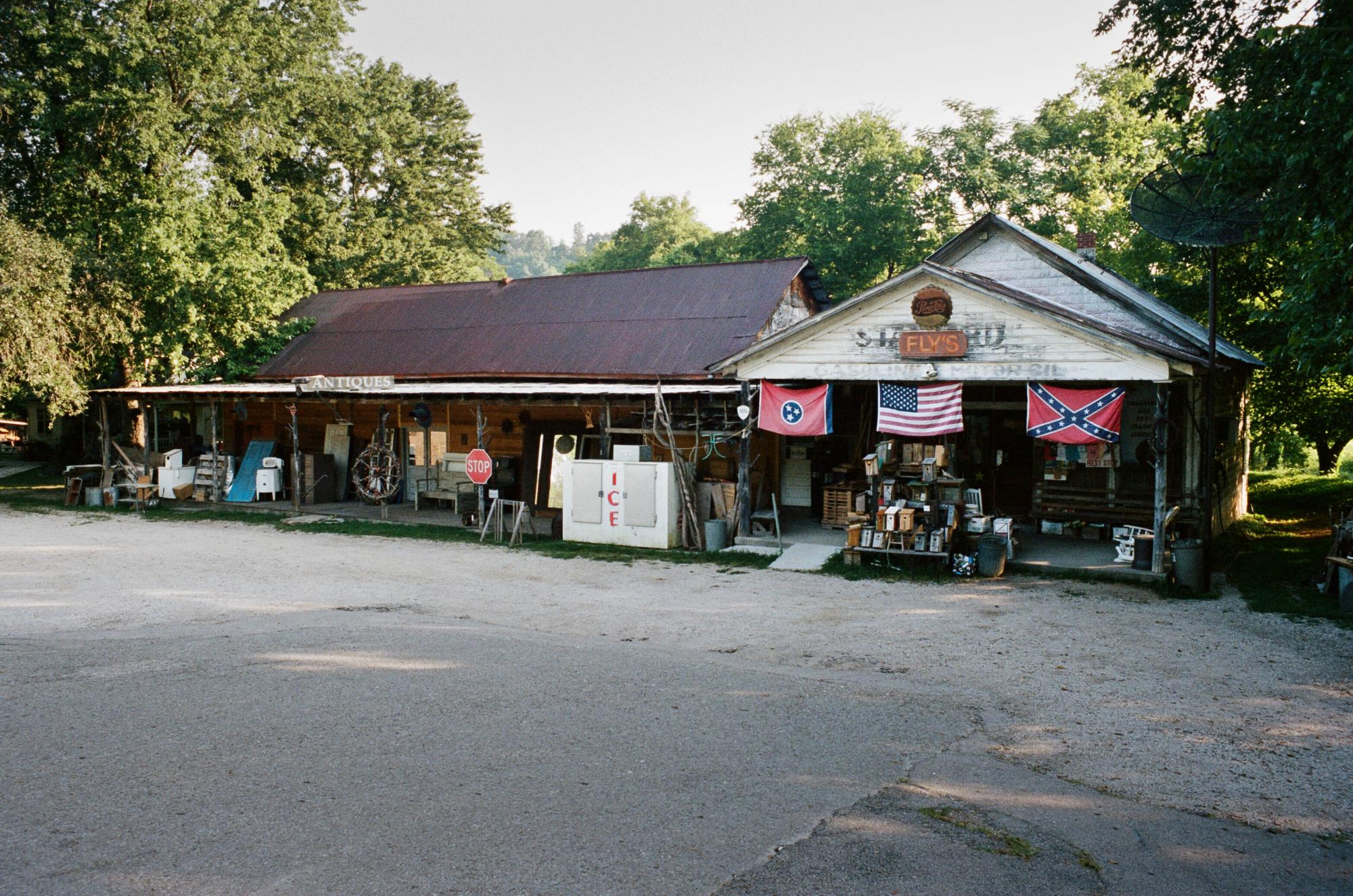 Fly General Store in Santa Fe, Tennessee