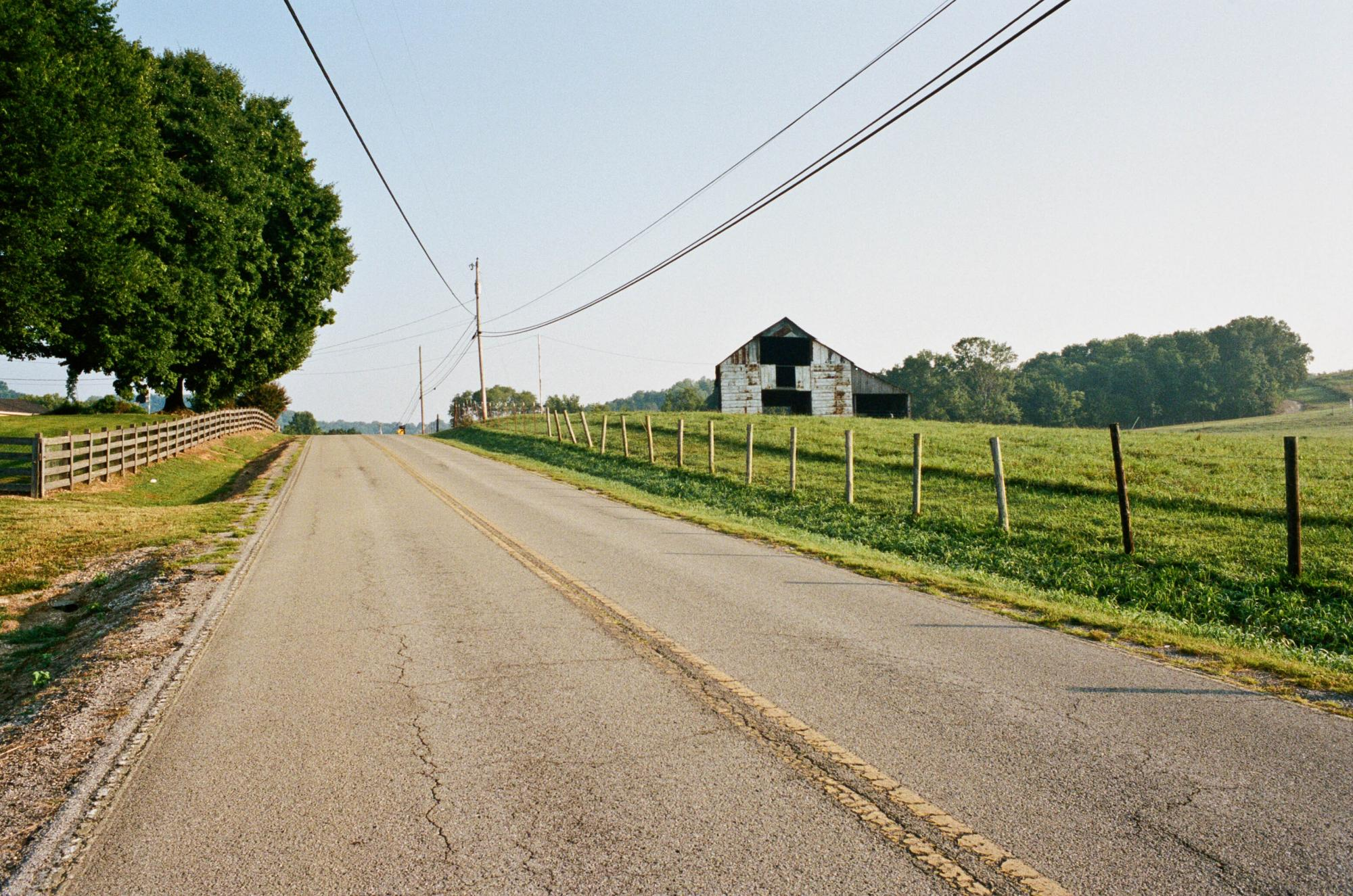 Country Road in Santa Fe, Tennessee