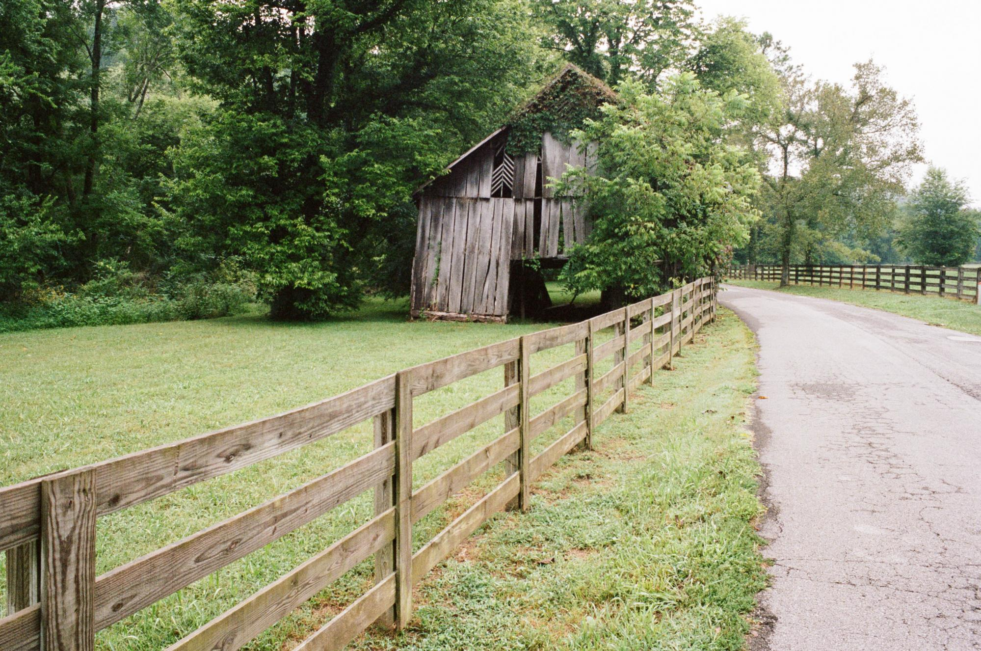 Old Barn in Maury County, Tennessee