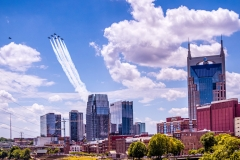 Blue Angel Flyover  - Music City