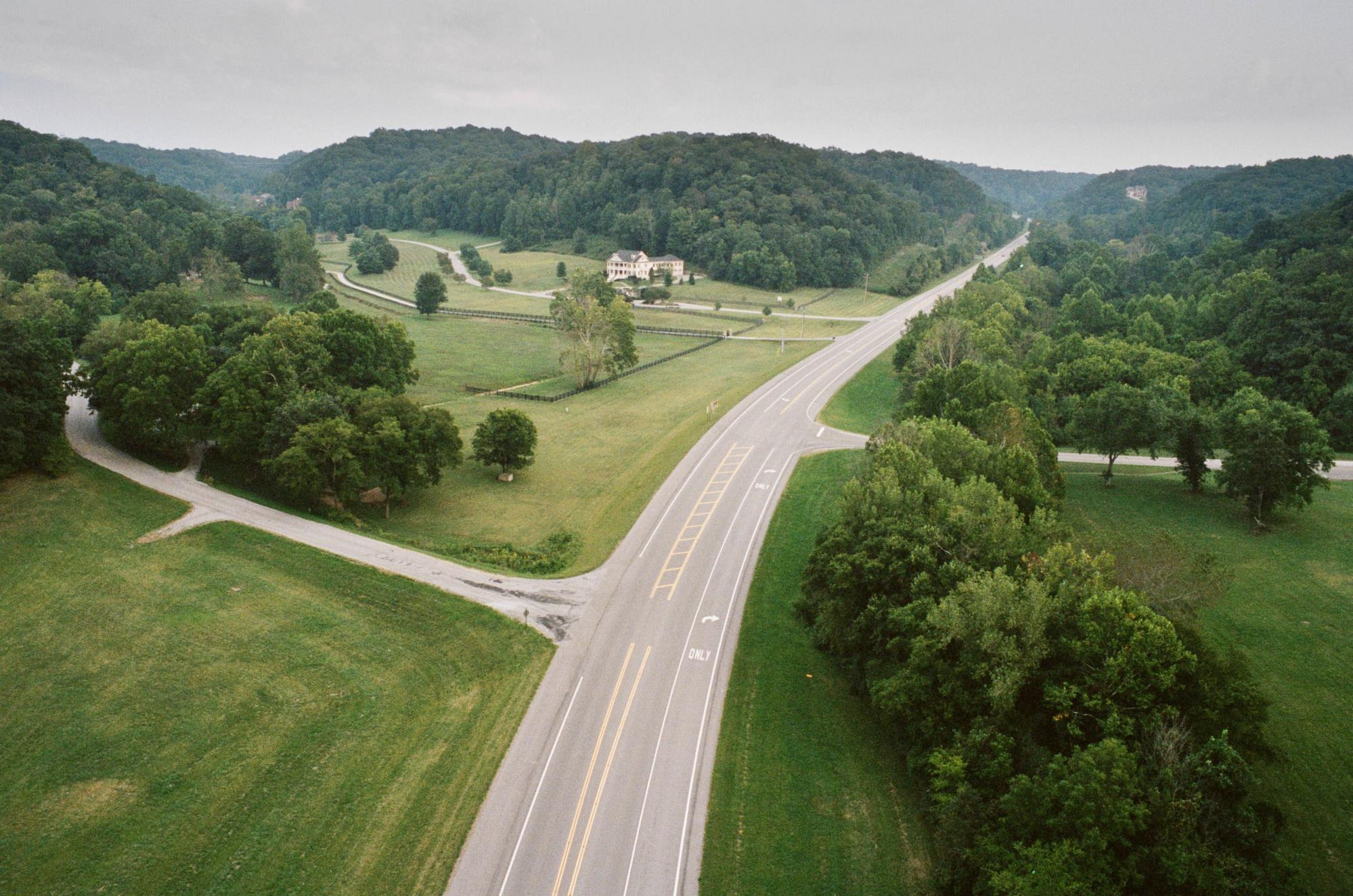 Highway 96 Underneath the Natchez Trace Bridge
