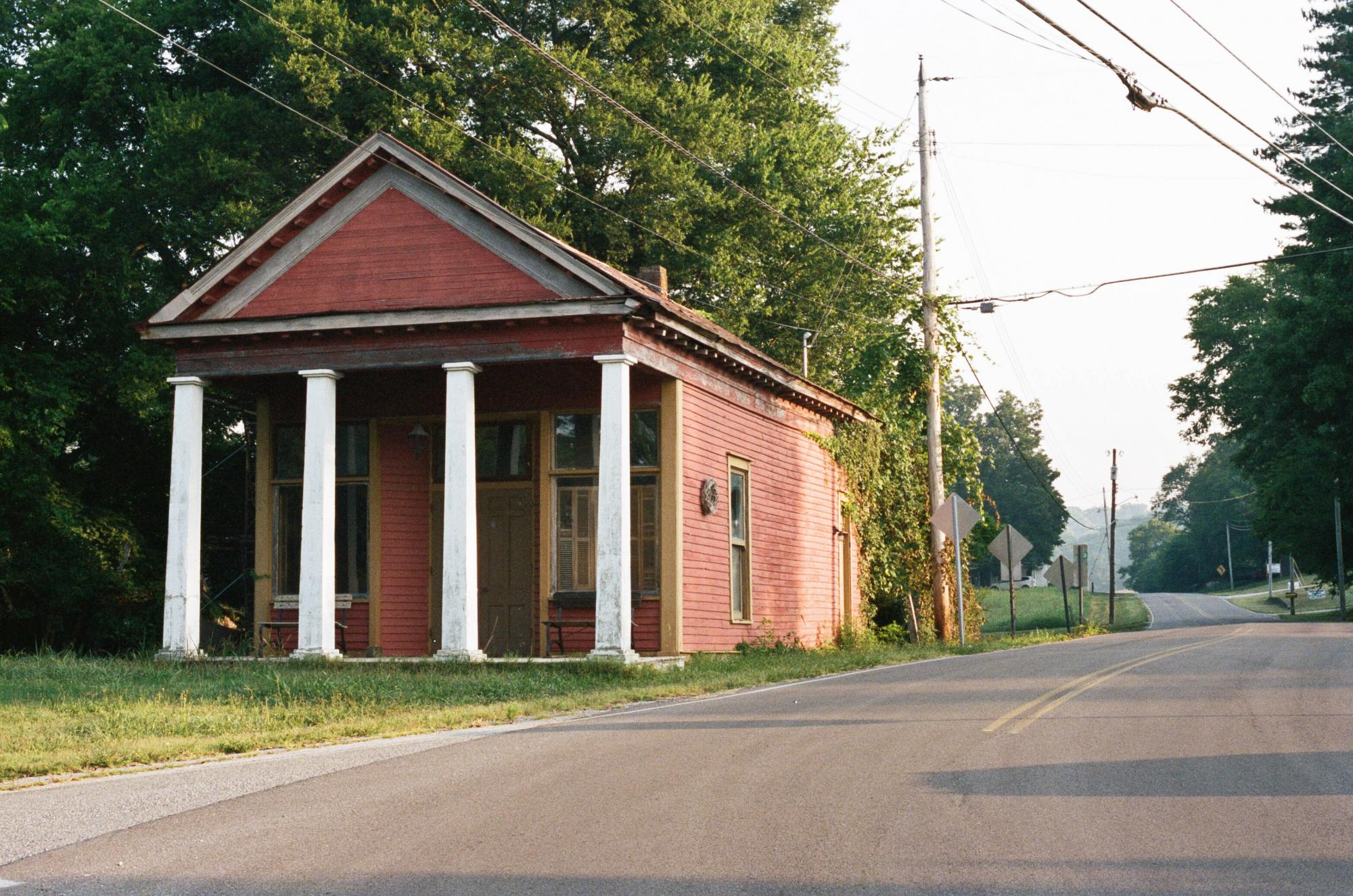 Old Building in Santa Fe, Tennessee